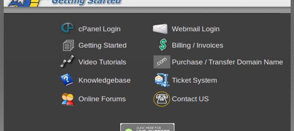 Host Gator Default Page